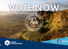 Vote for Exploris Aquarium as NI's Best Small Visitor Attraction